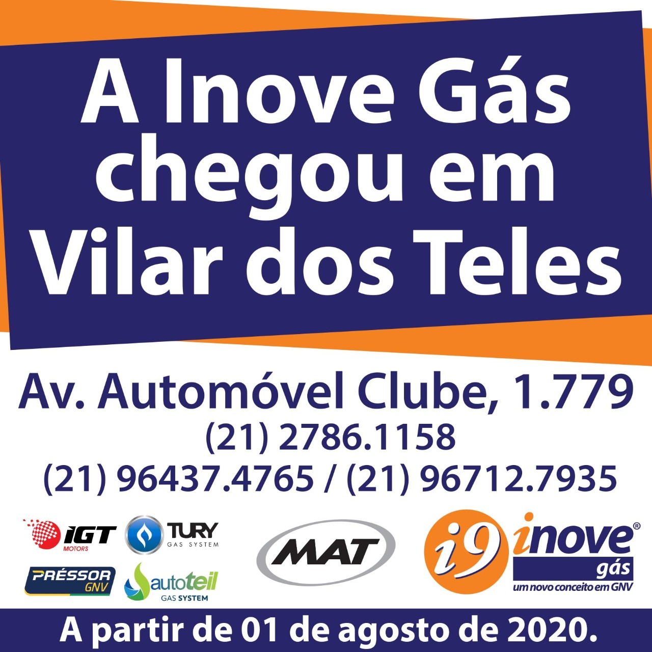 Nova loja de Inovegás em Vilar dos Teles
